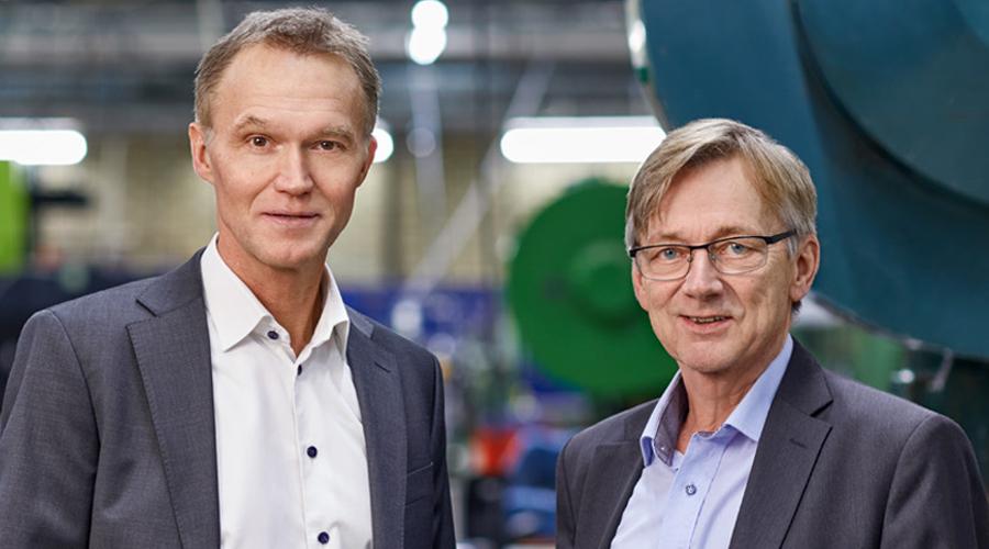Kjell-Arne Lindbäck and Ola Tengroth, new President of Lesjöfors